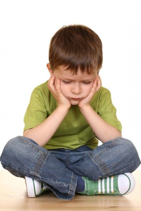 bambino depresso